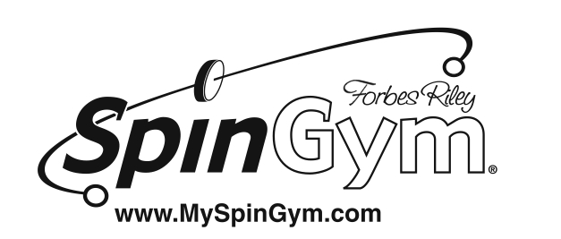 SpinGym Forbes Riley fitness equipment, 5 minute workout