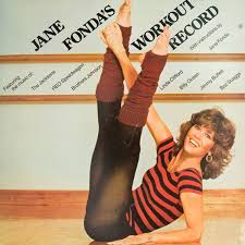 Jane fonda fitness star