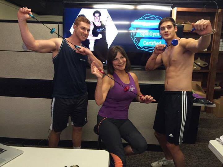 Ginger Stiver her son and best friend redefine FIT and SEXY!!