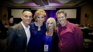 Shark Tank's Kevin Harrington, Forbes Riley World Ventures Kari Schneider and Days of Our Lives Kevin Spirtas