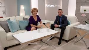 Forbes Riley & Kevin harrington on set
