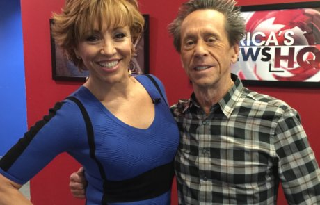 + Brian Grazer actress tv host Forbes Riley