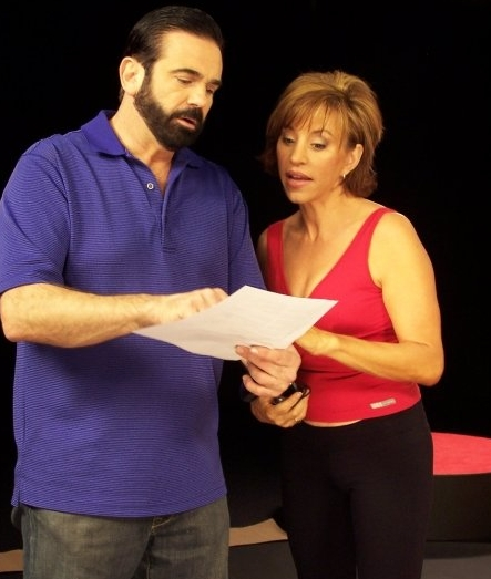 infomercial hosts Billy Mays and Forbes Riley