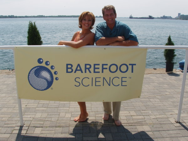 barefoot science with joe theisman and forbes riley