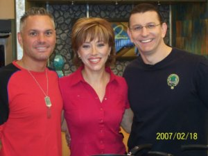 Kevin Harrington, Forbes Riley & Chef Robert Irvine