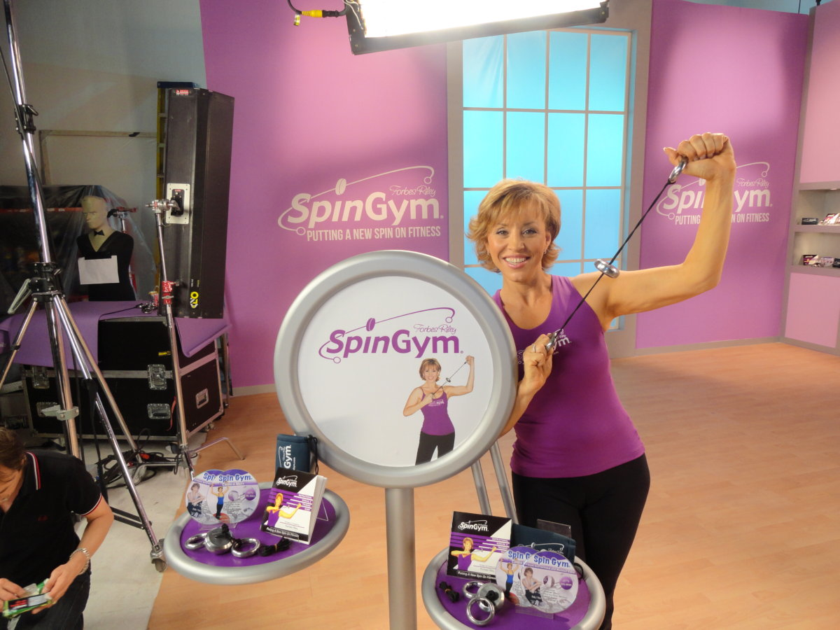 SpinGym TV infomercial