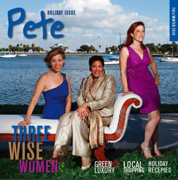 St Pete Magazine Cover