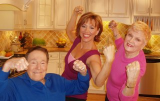 Fitness Legend Jack Lalanne & Forbes Riley